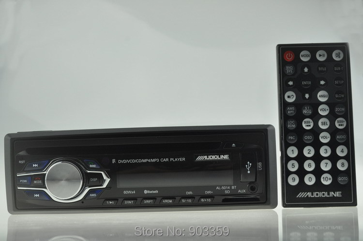 Купить Новое прибытие Автомобилей Cd-ресивер Автомобильные CD DVD Плеер bulit bluetooth hands free phone1 Din Car Audio FM радио/USB/SD/AUX