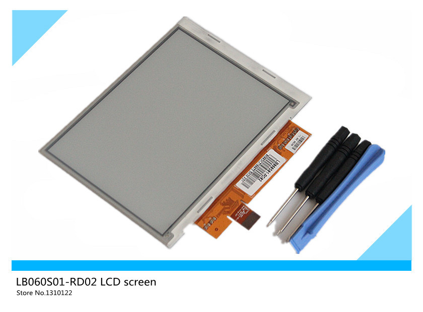 original 6 inch LB060S01-RD02 Ebook screen Electronic ink display For Pocketbook 301;SONY PRS-500 600, KINDLE 2 (+free DIY tools(China (Mainland))