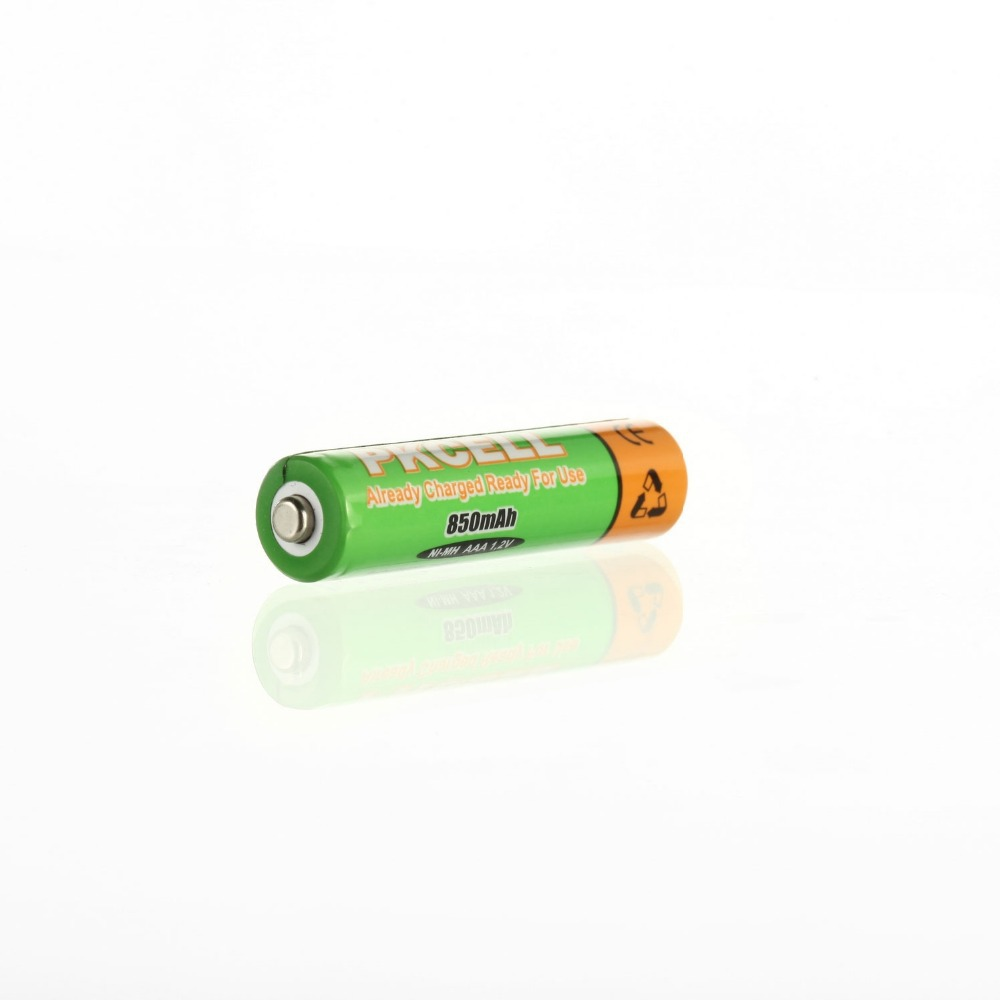 6Pcs AAA 850mAh 1 2V Low self discharge Rechargeable Ni MH Battery