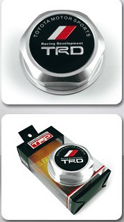 TRD Billet Aluminum Engine Oil Filler Cap Fuel Fill Tank Cover JDM Silver C05(China (Mainland))