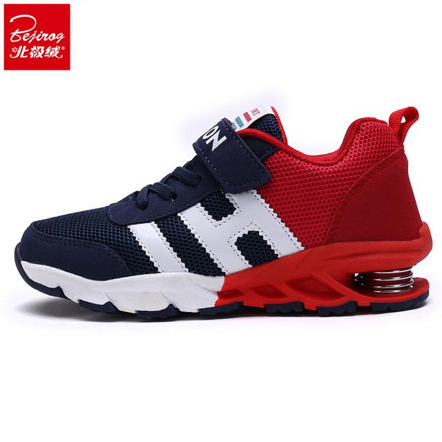 Новый 2016 дети дети весной обувь мальчик чистая мужчины детская обувь дышащие чистая поверхность девушка спортивная обувь