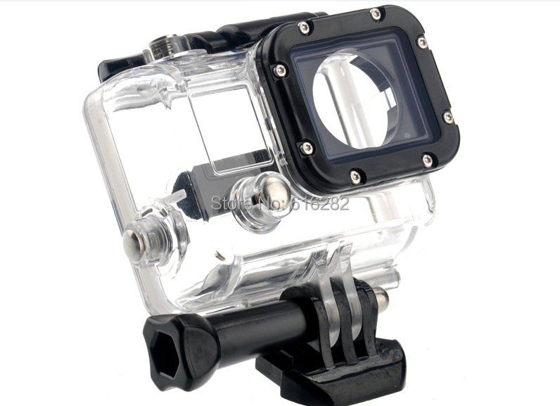 HOT SALES! Top quality Gopro 45M waterproof case go pro housing for gopro hero 3 go pro hero 3