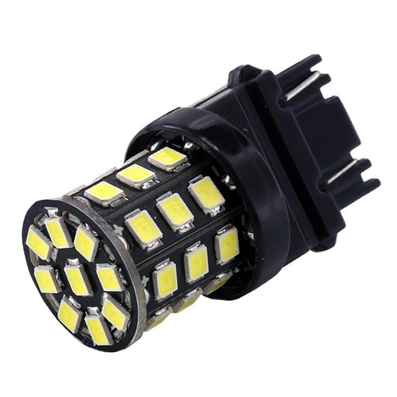 Car Backup Reverse Brake Tail Stop Light Bulbs T25 3157 3156 3057 3457 4157 3047 LED white red(China (Mainland))
