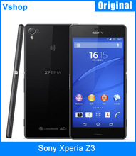 Unlocked Refurbished Original Sony Xperia Z3 16GBROM 3GBRAM 3G WCDMA Smartphone 5.2″ Android 4.4 Quad Core 20.7MP Back Camera
