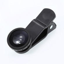 Buy black 3 1 Universal Clip Phone camera Lens 180 Fish Eye+0.67x Wide Angle +Macro telescope Iphone Samsung HTC SONY for $2.65 in AliExpress store