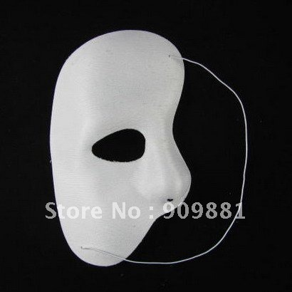 Side face and a half Christmas mask -The Phantom of the Opera of the film theme mask for costume ball free shipping(China (Mainland))