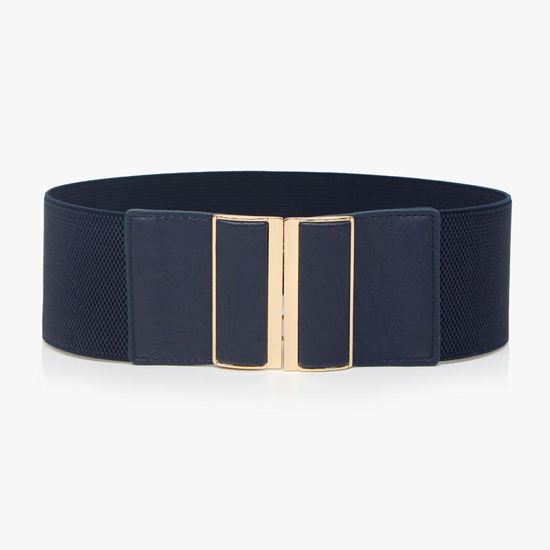 Women's elastic waist belt fashion decoration female 2013 all-match lengthen black ultra wide cummerbund - amy shao's accessories store
