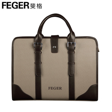Brand designers high quality genuine cow leather men's business briefcase, man's messenger shoulder bags, real cowhide, TCF028(China (Mainland))