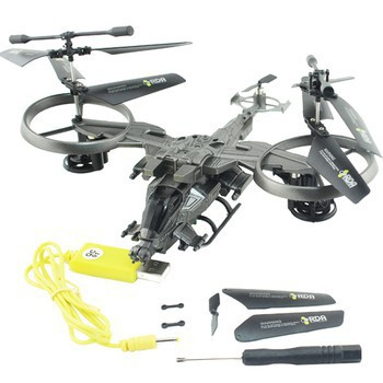 Free shipping 4CH 2.4GHZ YD-718l big helicopter rc drone toys for children 4CH Four-blade Remote Control Helicopter(China (Mainland))