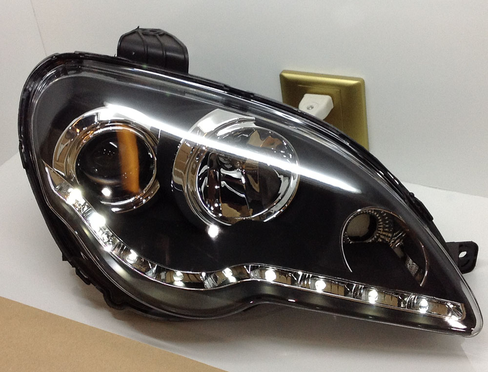 Proton GEN2 headlight turning lights LED bar front lights head lamps 2008 2013 factorywholesale(China (Mainland))