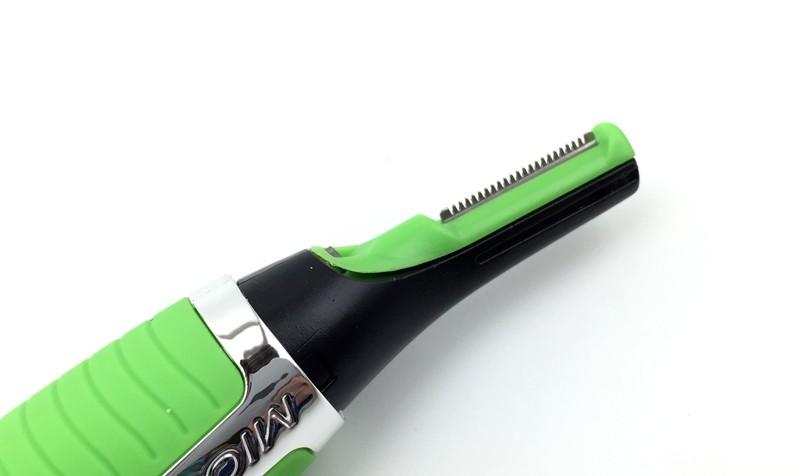 Elétrica pessoal ouvido , nariz cabelo Mini Trimmer Men ' s Precision Groomer Shaver com luz LED frete grátis + Dropshiping