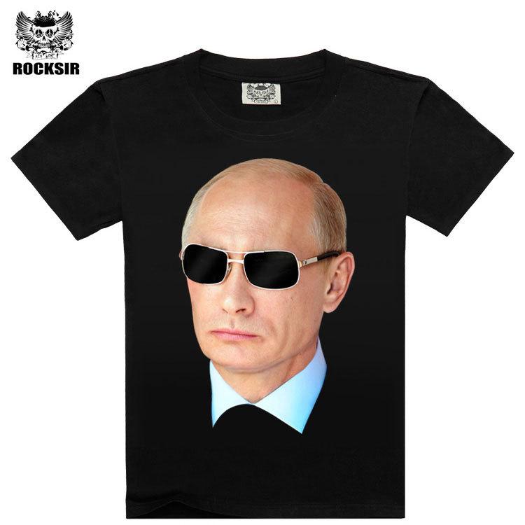 Putin 3d Printed t shirt men,2015 summer style t shirt,brand Design hip hop Casual Tshirt men,100%Cotton t-shirt men(China (Mainland))