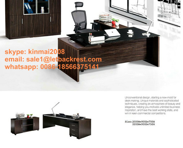 new arrival executive office table design / modern office desk furniture(China (Mainland))