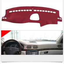 Interior Dashboard Carpet Photophobism Protective Pad Mat For Volvo S80 2012-2015(China (Mainland))