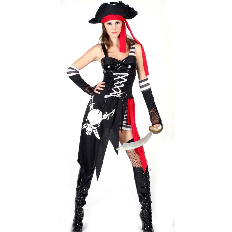 Костюм пиратки взрослый своими руками