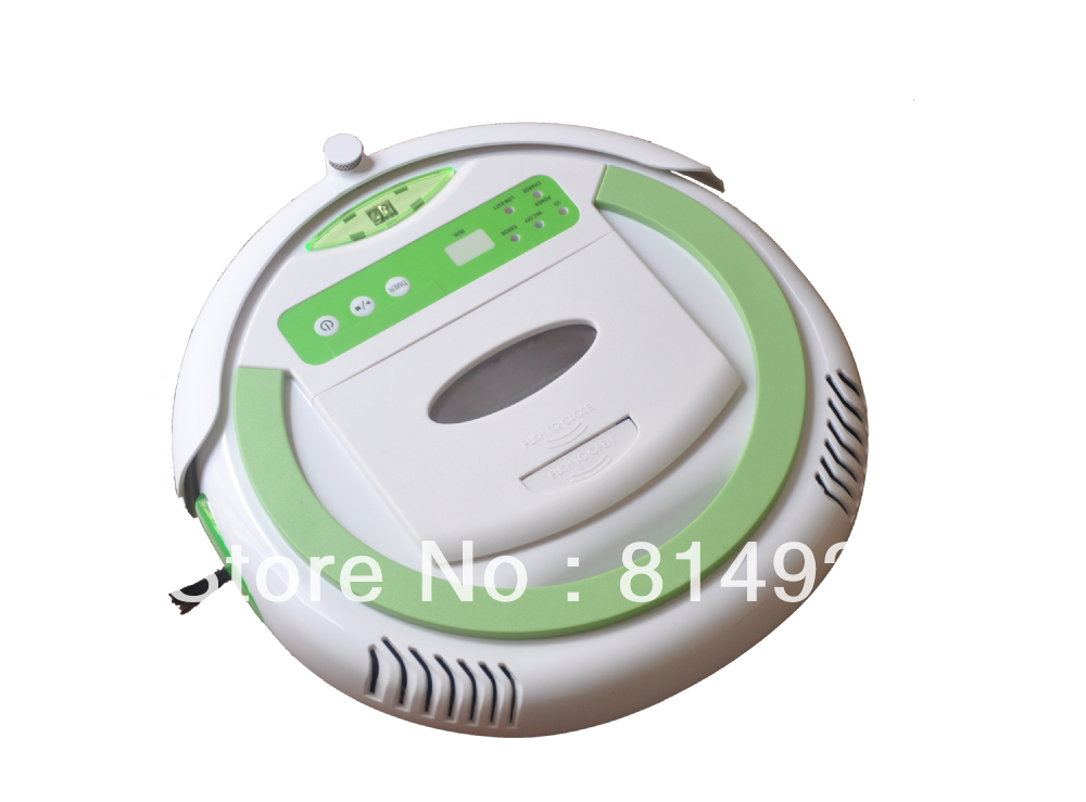 (For USA buyer)Robot vacuum cleaner QQ2PLUS,Schedule ,UV light, it can clean every corner of you room(China (Mainland))