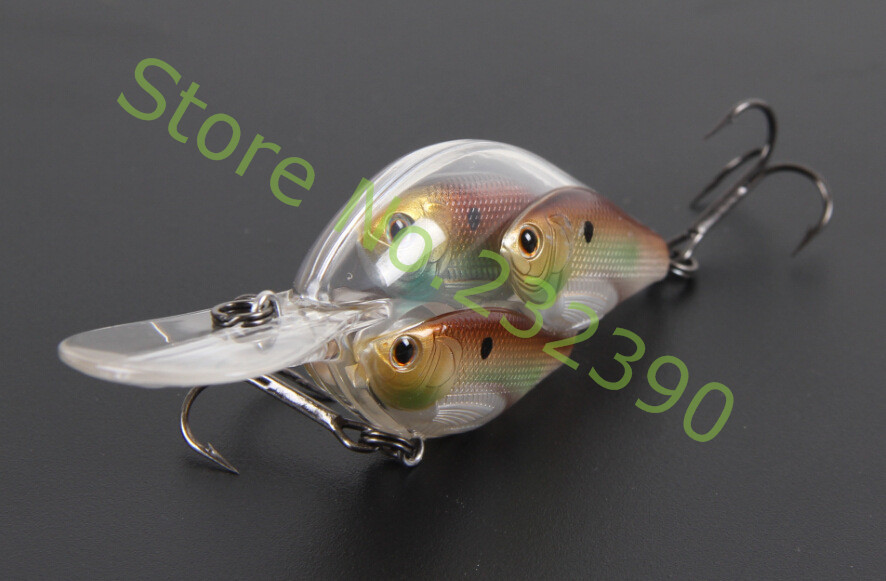 3 pcs lot Threadfin Shad Baitball Crankbait SQUAREBILL Medium Dive small cluster of Shad lure set for Bass(China (Mainland))