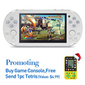 8G Handheld Game Console 4 3 Inch 32Bit Mp4 Player Video Game Console Retro Games Support