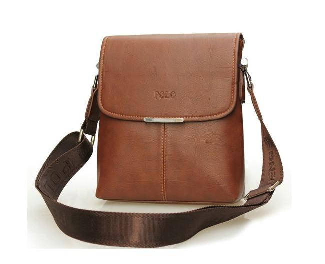 HOT! fashion men shoulder bag,men leather messenger bag,business bags for men,free shipping+Factory price #MB05(China (Mainland))