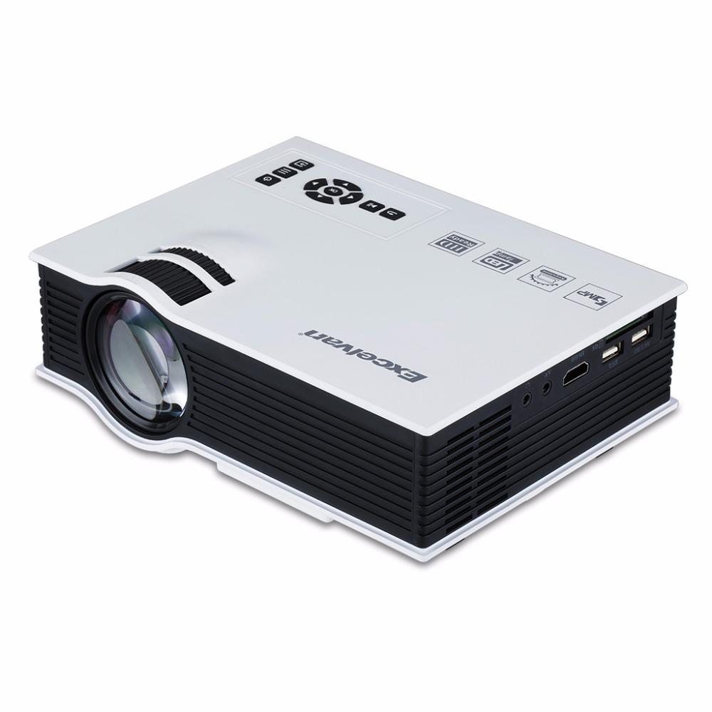 Buy excelvan uc40 portable mini led for Small projector for laptop