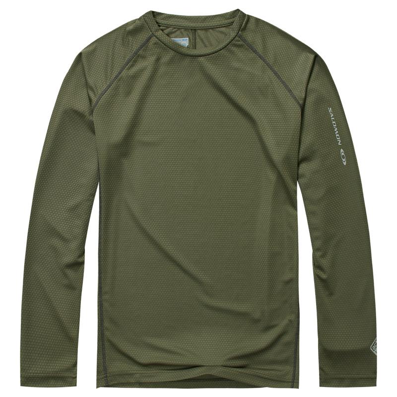Hot 2015 men new outdoor coolmax long sleeve t shirt man for Mens outdoor long sleeve shirts