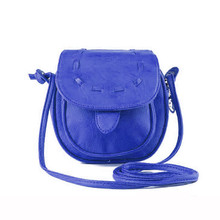 Min Lovely Cute Girl Pu Leather Mini Small Adjustable Shoulder Bag Handbag Mar24
