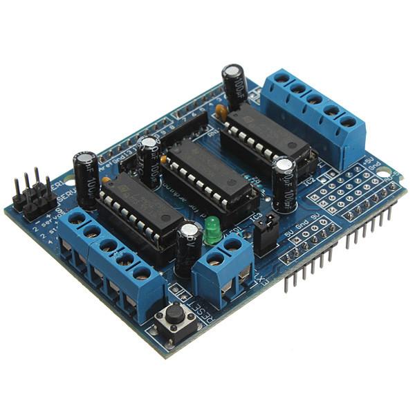 Pro Motor Drive Expansion Shield Board Module Pad L293D For Arduino Duemilanove Mega UNO(China (Mainland))