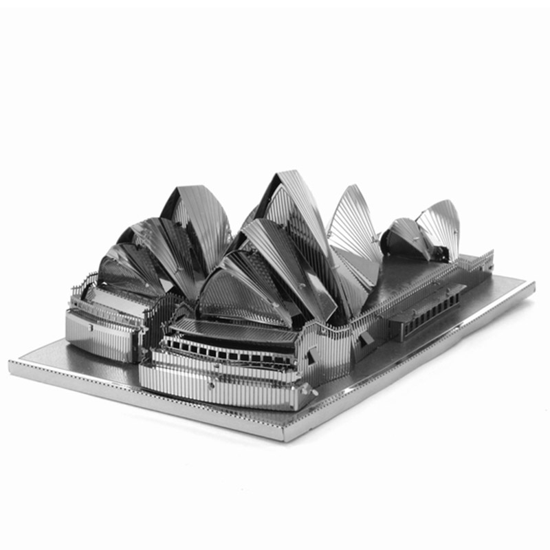 Sydney Opera House Model Building Kits World's Landmark Famous Building Model 3d puzzle Jigsaws Best Toys For Children(China (Mainland))