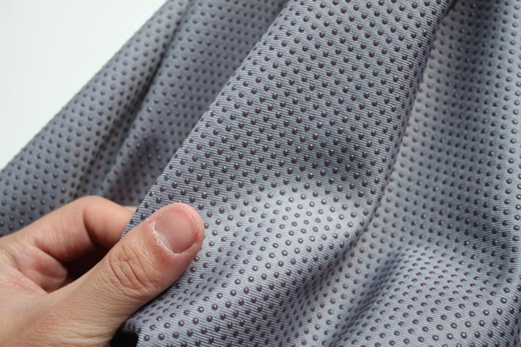 Anti Slip Fabric : Gray antislip vinyl nonslip fabric rubber non skid