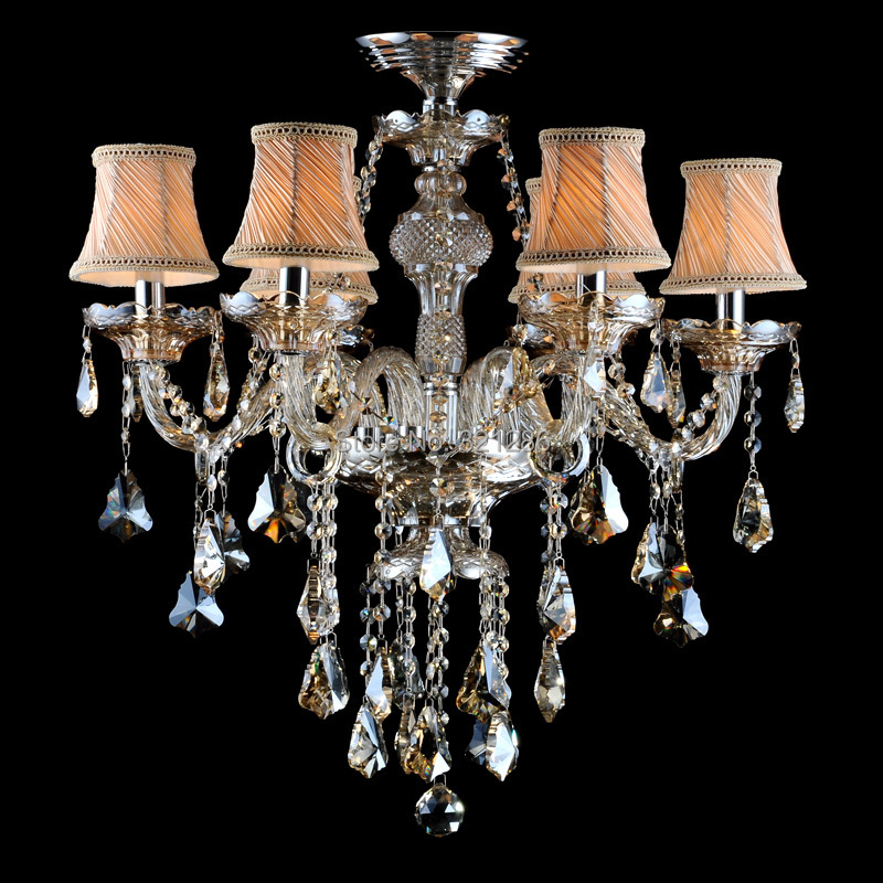 New Modern Crystal Chandelier Home Lighting lustres de cristal Decoration Chandeliers and Pendants Living Room Lamp(China (Mainland))