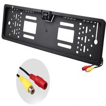 Cadre de plaque de licence PAL / NTSC voiture caméra de recul caméra de recul plaque de bord pour caméra E316