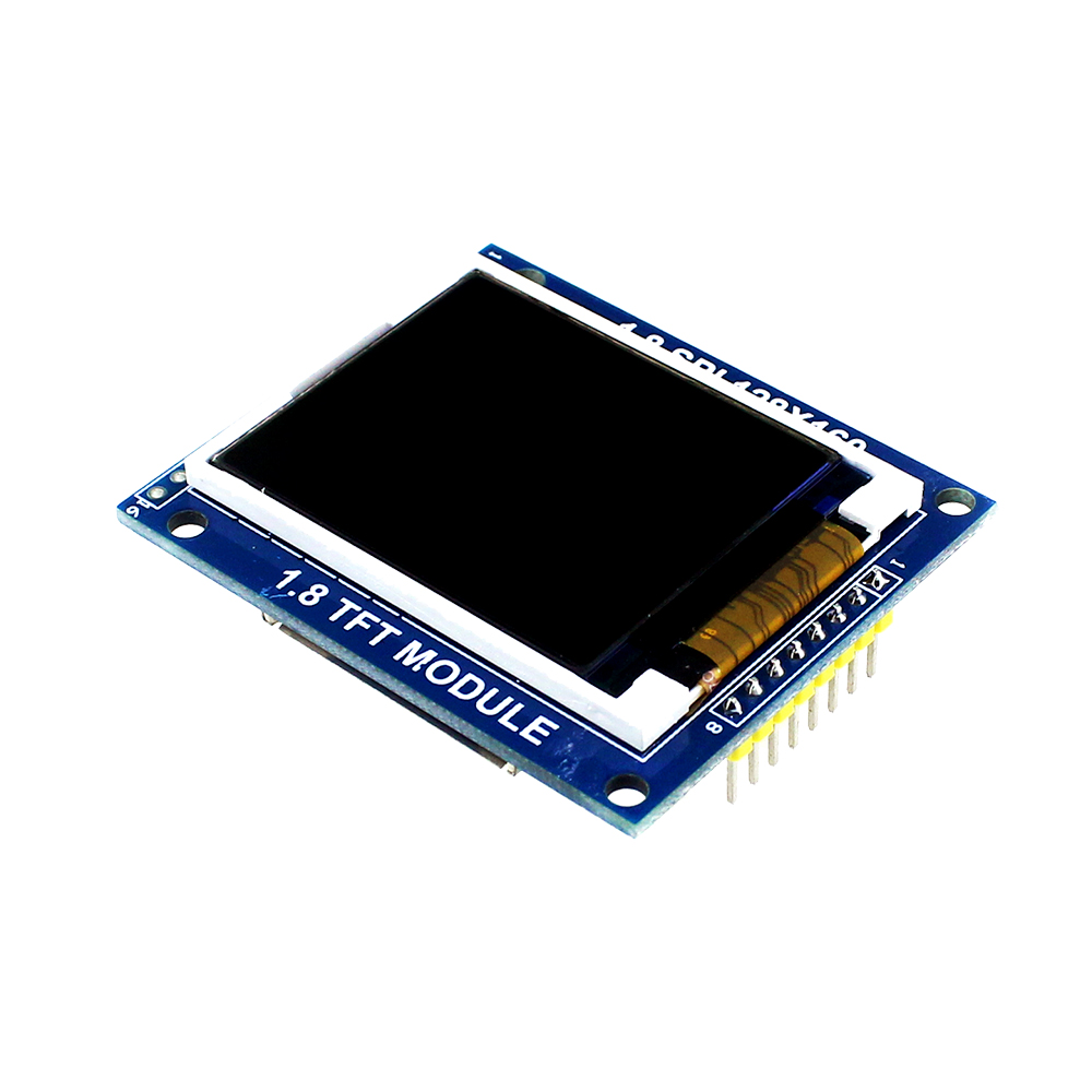 Electronics 10pcs 1.8 Inch 128*160 Serial SPI TFT LCD Module Display + PCB Adapter Power IC SD Socket for Arduino 1.8'' 128x160(China (Mainland))