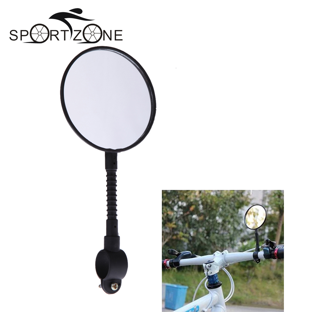 Shatterproof & High-strength ABS Mountain Road MTB Bike Bicycle Rear View Mirror Reflective Cycling Safety Flat - Sports Zone-Keep you heathy store