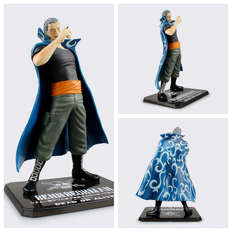 Hot-selling 1pcs 17cm pvc Japanese anime figure one piece Benn Beckman action figure collectible model toys brinquedos(China (Mainland))