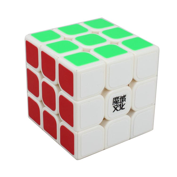 MoYu 3x3 Aolong v 2 Speed Magic Puzzle Cube 57mm White(China (Mainland))