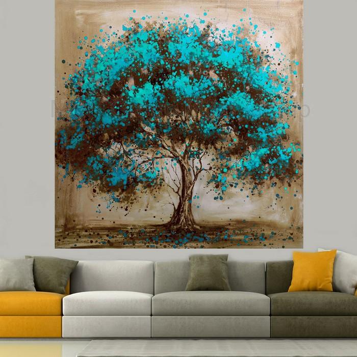 Peintures De Mur Darbre Sur Pinterest Murales