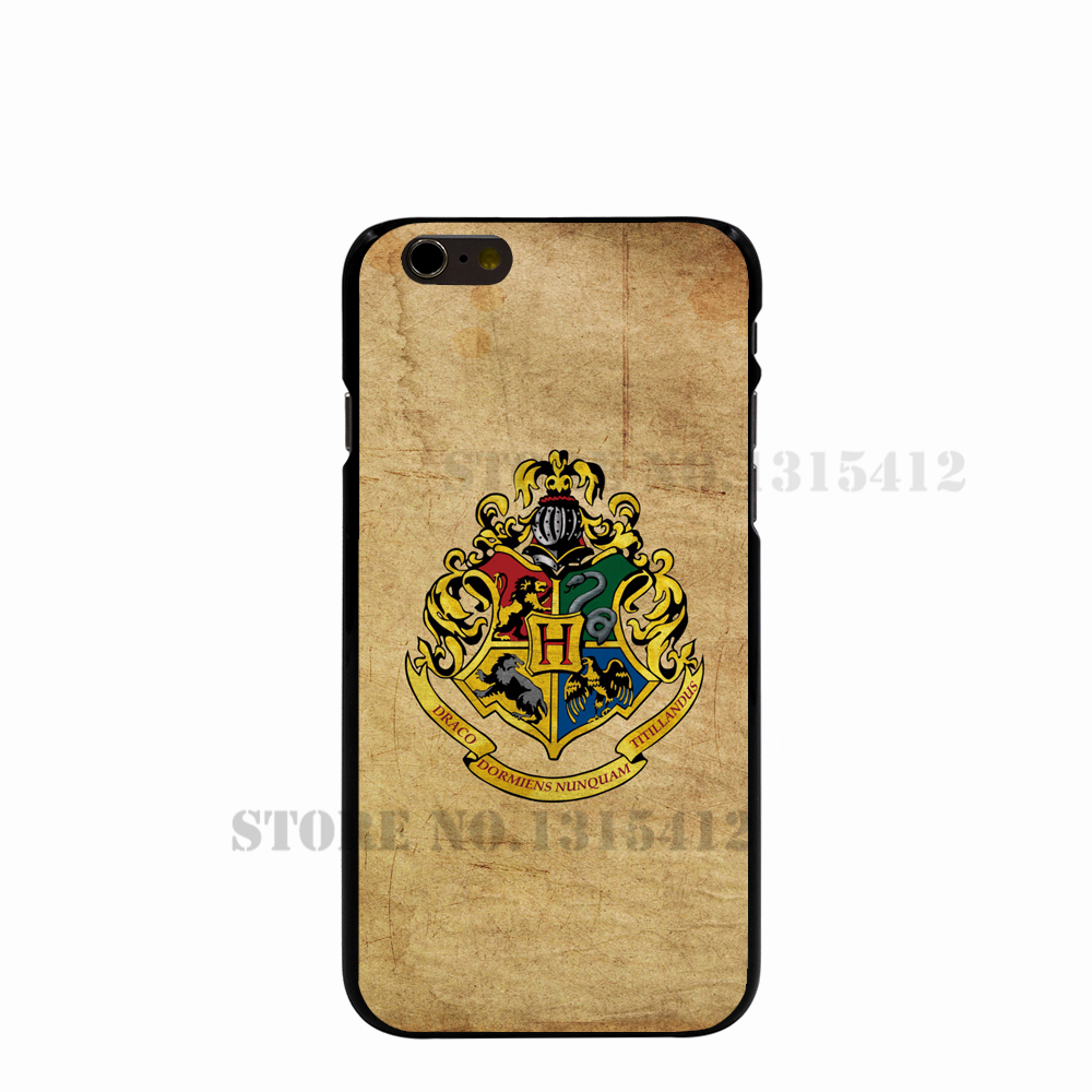 11399 Harry Potter Happiness can be Founded Hard black Cover cell phone Case for iPhone 4 4S 5 5S SE 5C 6 6S Plus 6SPlus(China (Mainland))