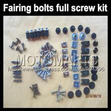 Fairing bolts full screw kits For KAWASAKI NINJA Z1000 10-15 Z 1000 SX Z-1000 Z1000SX 10 11 12 13 14 15 Nuts bolt screws kit