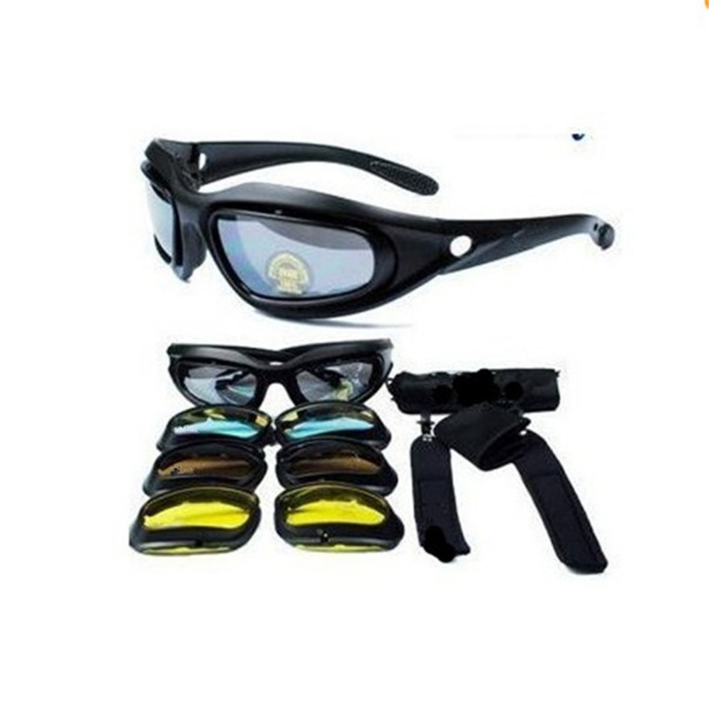 Outdoor Traveling Motorcycle Cycling Foam Padded Glasses Safety Goggles Sunglasses 4 Color lens Freeshipping O015(China (Mainland))