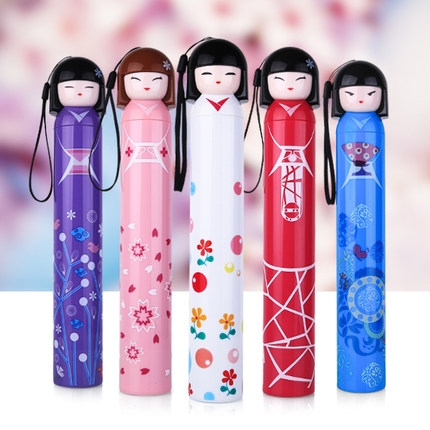 Creative Cartoon Children Student brand umbrella Anti-UV Sun umbrella rain women novelty items Outdoor Parasol(China (Mainland))