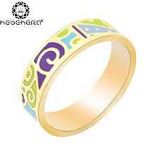 Newest Ring Thin 0.6cm Width Rose Gold Ribbon Abstract Pattern Design Enamel Jewelry Ring, 1 Piece/pack R4(China (Mainland))