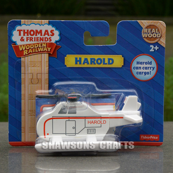 THOMAS & FRIENDS THE TRAIN WOODEN RAILWAY TOYS FIGURE HAROLD THE HELICOPTER(China (Mainland))