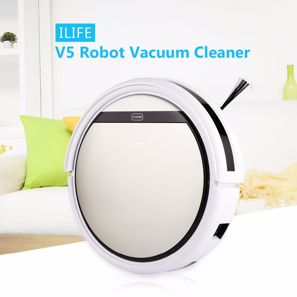 ILIFE V5 Floor Smart Cleaning Robot Intelligent Auto Vacuum Cleaner Microfiber Dust Automatic Sweeping Machine Self Charging(China (Mainland))