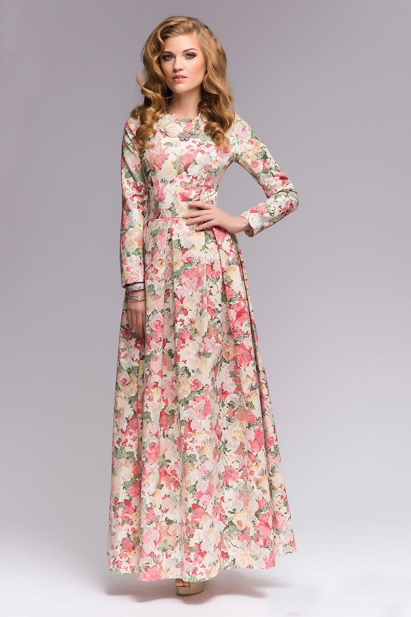 Elegant long sleeved maxi dresses