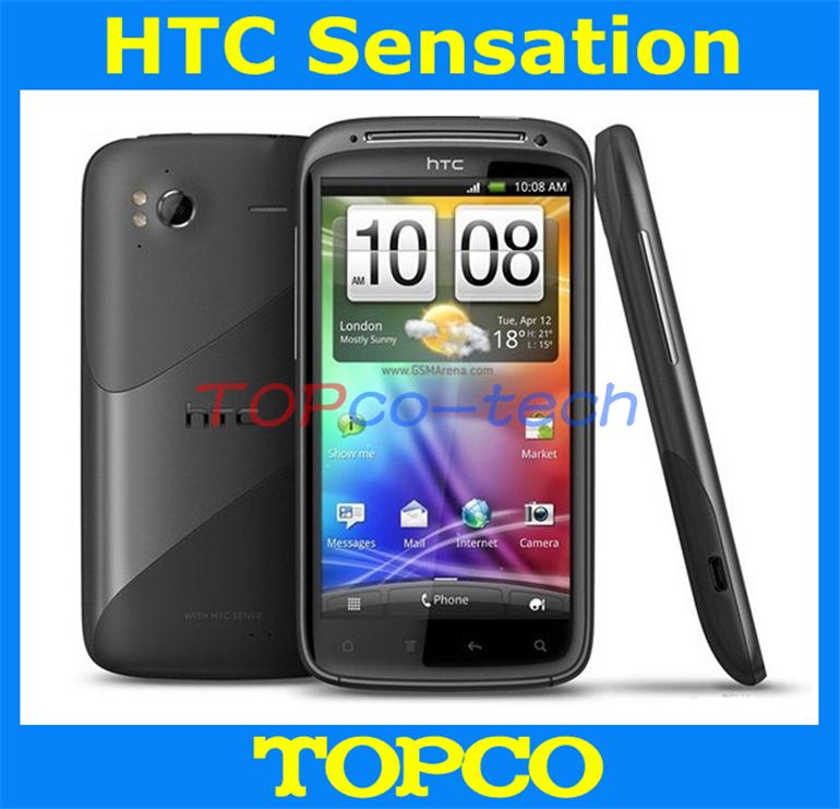 Original Z710e HTC Sensation Z710e Dual-core unlocked 3G GSM Android mobile phone HTC G14 WIFI GPS 8MP freeshipping(China (Mainland))