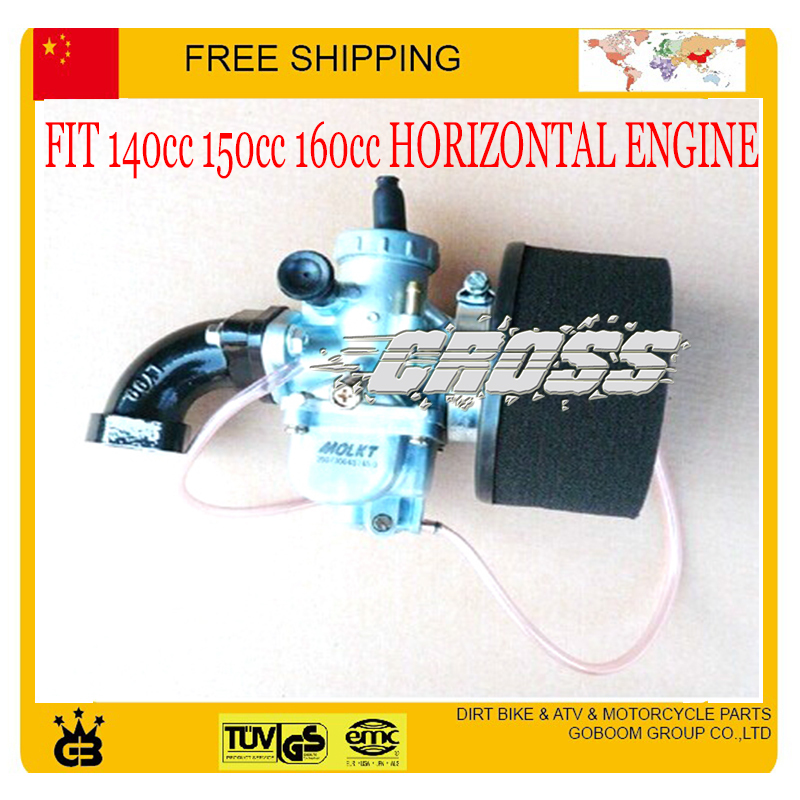 Molkt 28mm carburetor hand choke faom filter intake pipe YX zongshen 140cc 150cc 160cc dirt bike pit monkey accessoris - GoBoom Group Co.,Ltd store