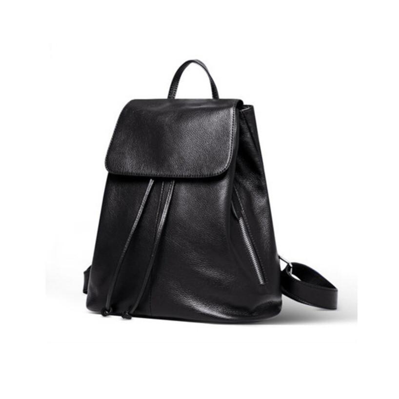 Здесь можно купить  genuine leather backpack women fashion high quality shoulder bag stylish backpacks for teenage girls bolsa feminina ladies bags  Камера и Сумки