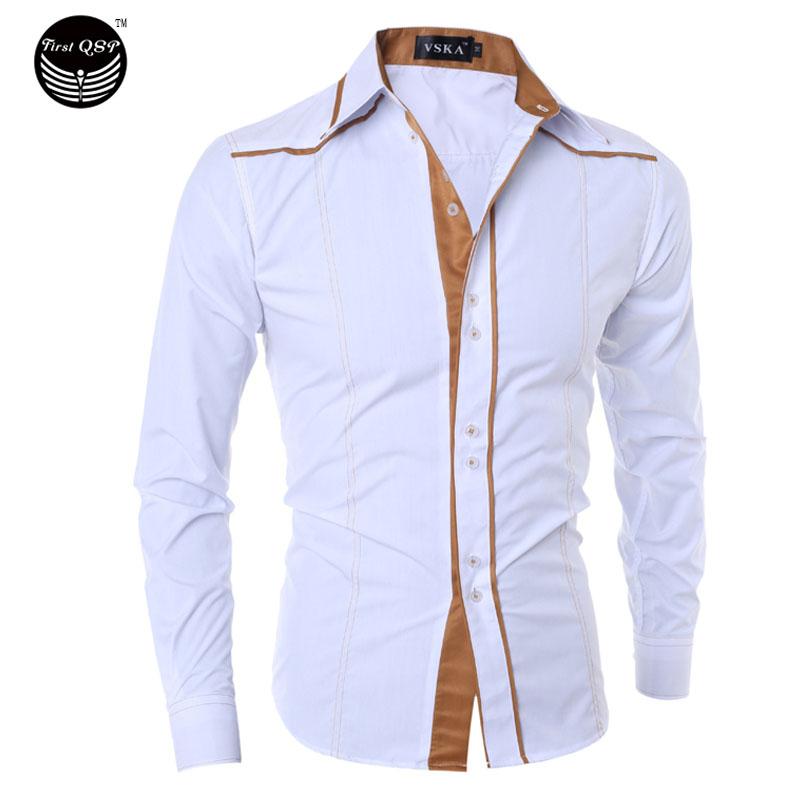 Мужская повседневная рубашка 2016 , Masculina