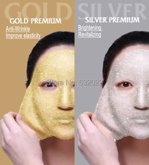 Face Masks 2200ml SILVER PLUS CRYSTAL MODELING MASK Powder Bowl Stick Soothing Skin Elasticizing Imroves Suppleness Beauty Salon(China (Mainland))