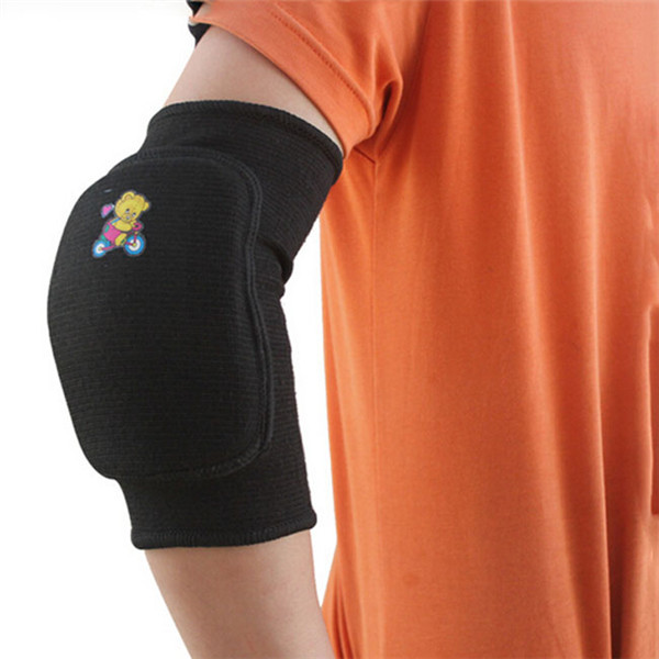 Hot Sale Children Thicken Breathable Durable Elbow Support Brace Protector Pad Crashproof Sport Elbow Guard 2 Colors DP673966(China (Mainland))